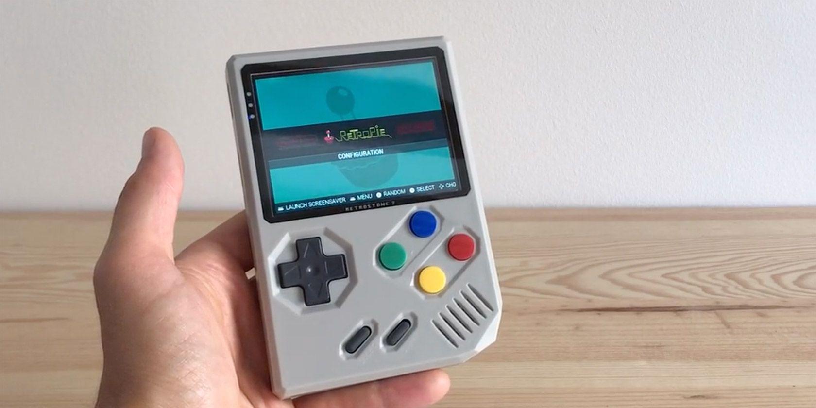 The Portable RetroStone 2 Emulates Dozens of Retro Gaming