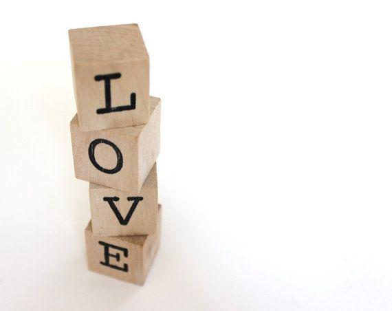 LOVE blocks personalized blocks wooden wedding cake topper | Etsy | Shabby  chic wedding favors, Shabby chic wedding cake, Wedding cake toppers