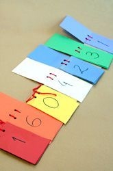 Fourth Grade Algebra & Functions Activities: Make a Flip Book for Place Value - I could make these with my comb binder and laminate the pages for durability.