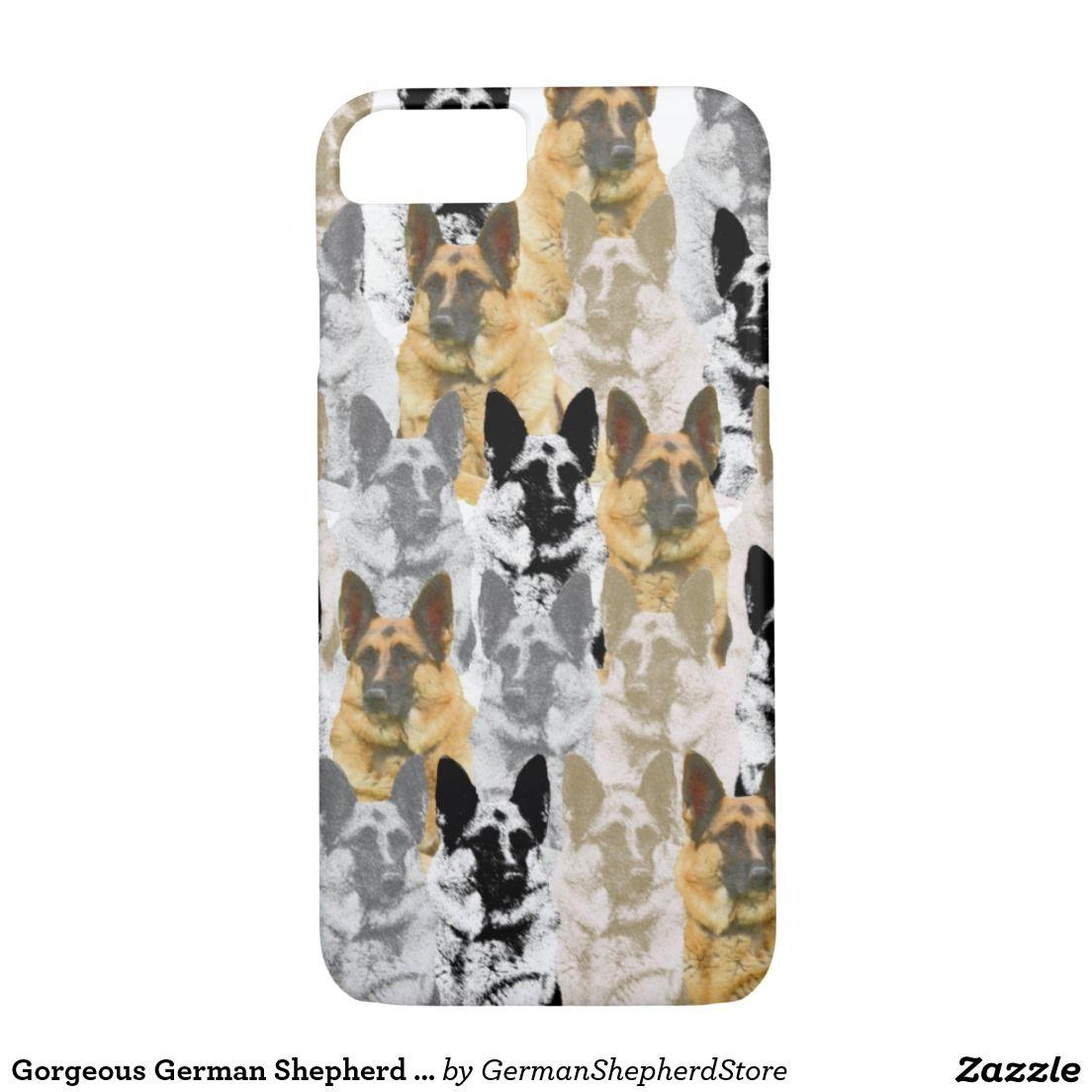 Gorgeous German Shepherd Collage iPhone 7 Case