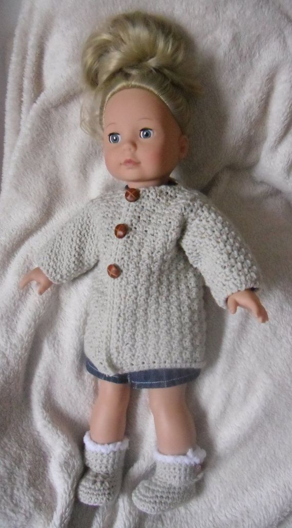Crochet Pattern For A Coat For 18 Inch Doll Dolls Crochet And