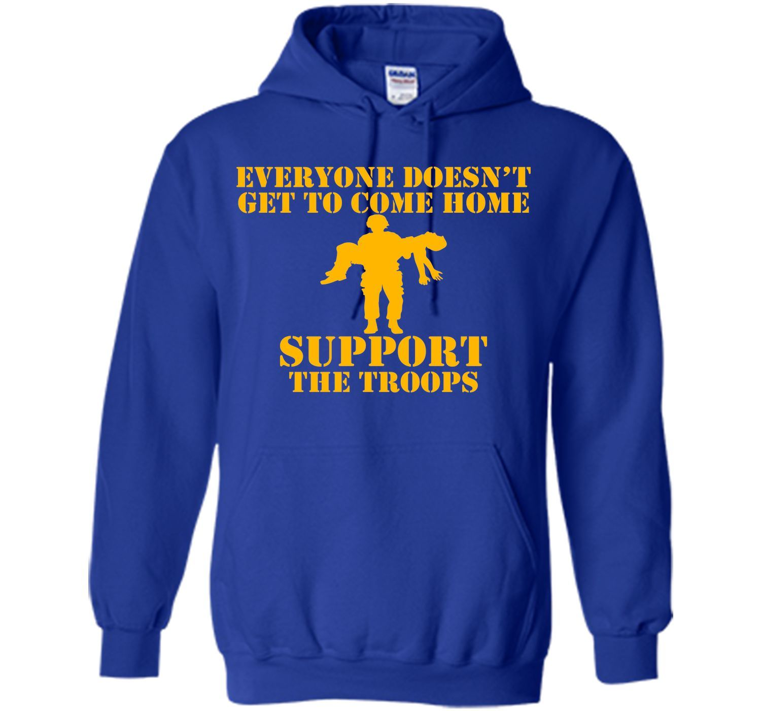 Not Everyone Gets To Come Home (gold) T-Shirt