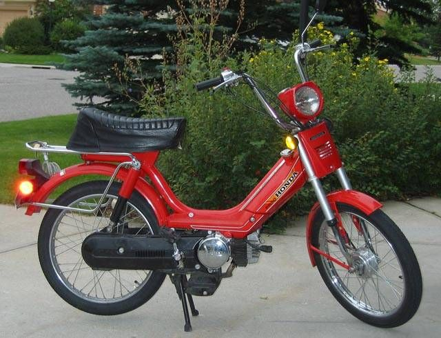 Moped Photo Gallery 1982 Honda Pa50 Ii Mopeds And Scooters