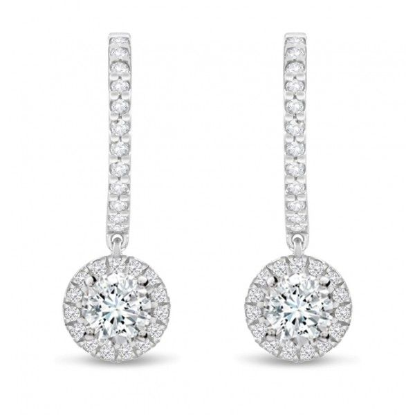 Gemesis Divine Drops Diamond Earrings Setting Price 1 678 80