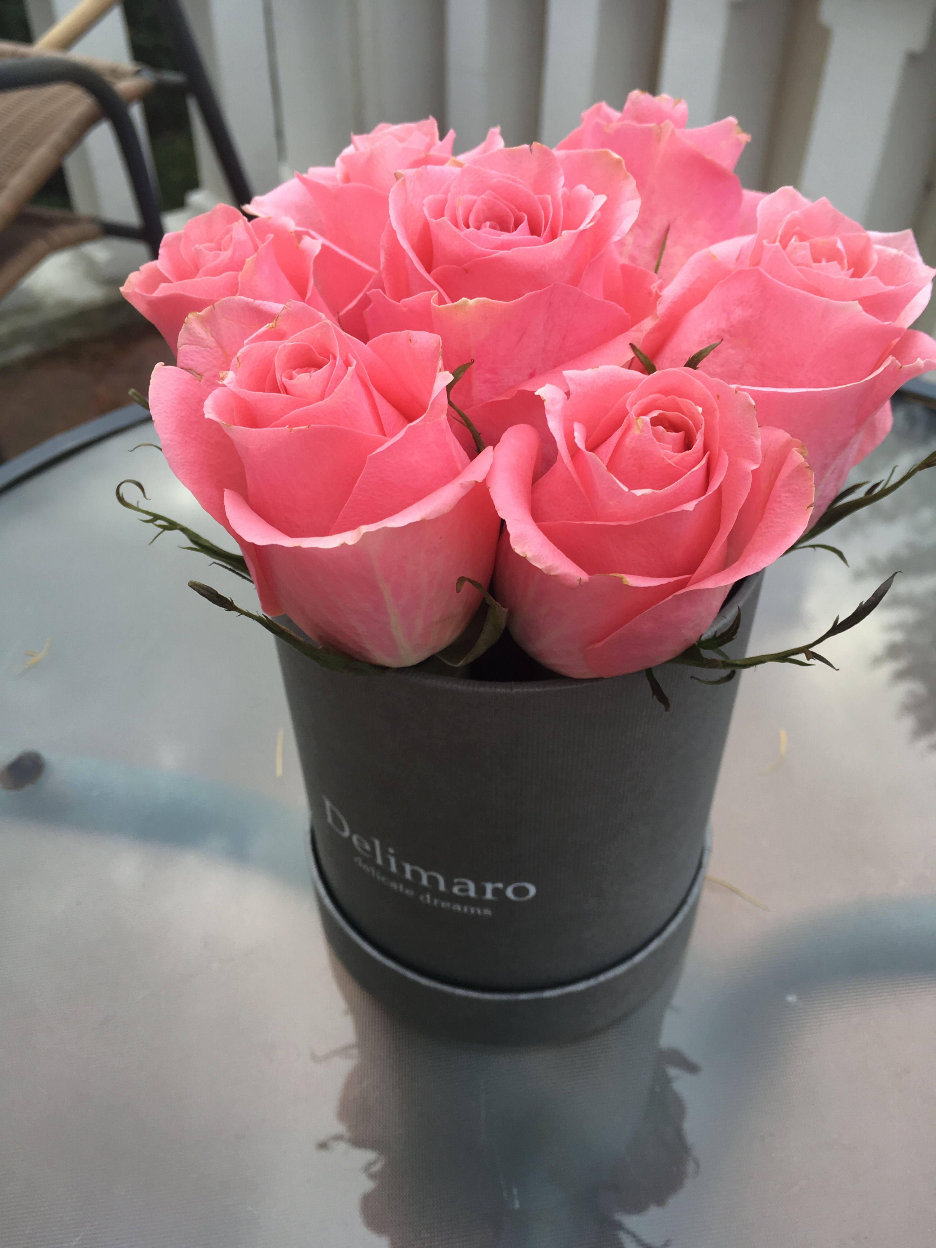 Pin On Kwiaty W Pudelku Flowerbox Delimaro