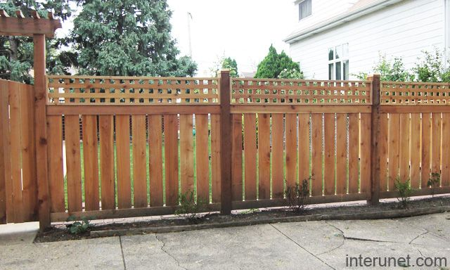 37 Stylish Privacy Fence Ideas for Outdoor Spaces Fence styles