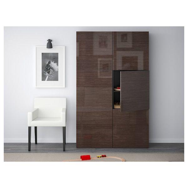 Best Ikea Bestå Storage Combination With Doors In 2020 Ikea 640 x 480