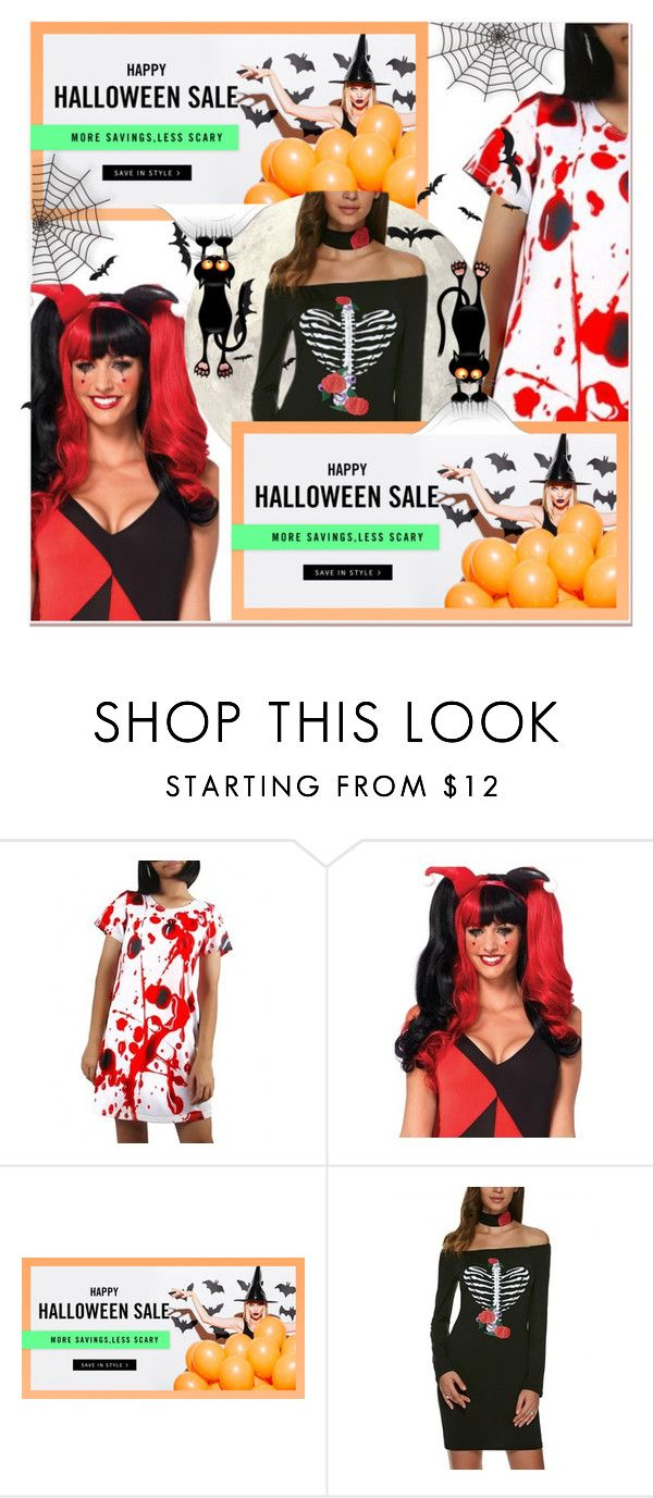 """Dresslily Halloween giveaway"" by paculi on Polyvore featuring halloweencostume and DIYHalloween"
