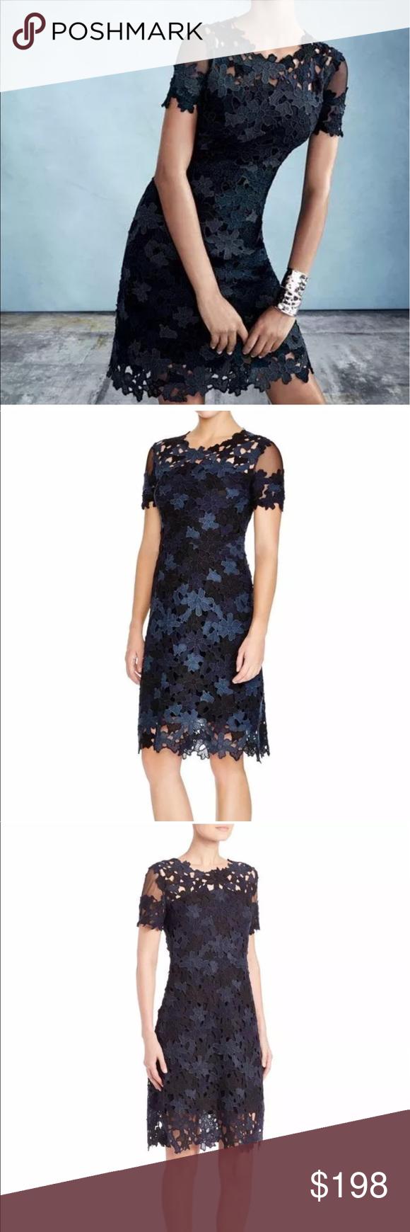 Host Pick Nwt Elie Tahari Crochet Ophilia Black Crochet Dress Elie Tahari Clothes Design [ 1740 x 580 Pixel ]