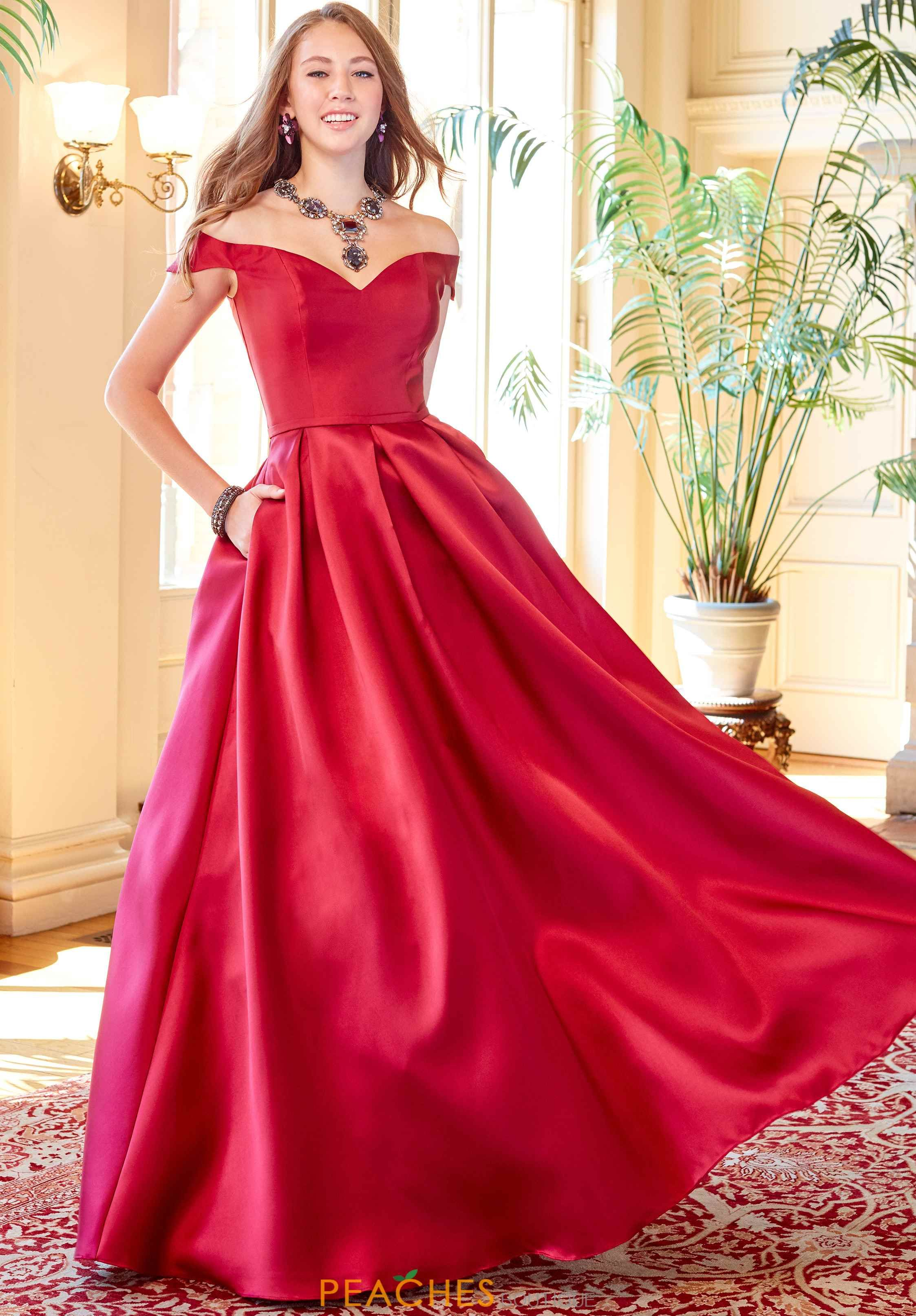 Clarisse Off The Shoulder Gown 3442 A Line Prom Dresses Ball Gowns Clarisse Dresses Prom