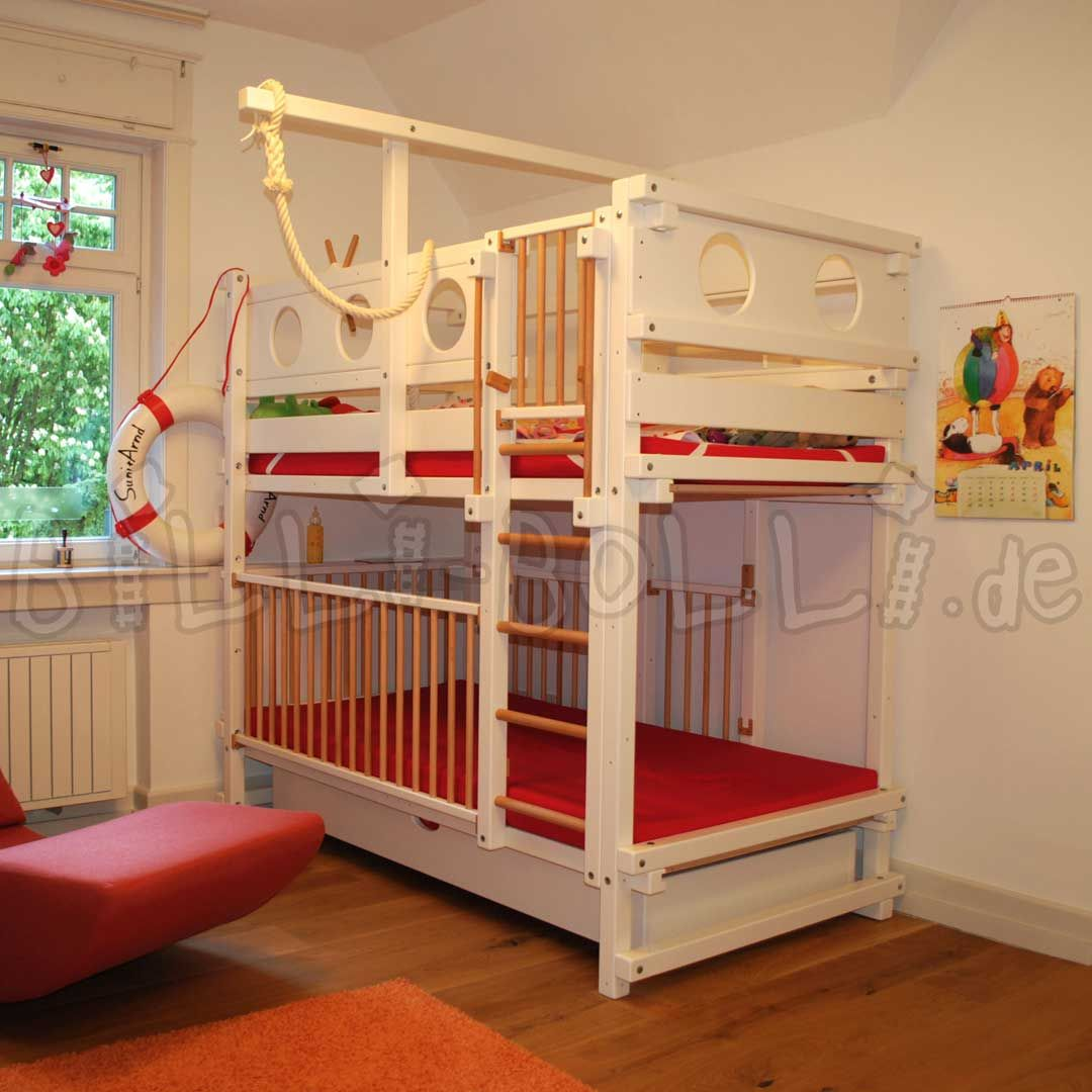 Etagenbett | Etagenbett kinder, Hochbett mädchen, Kinder zimmer