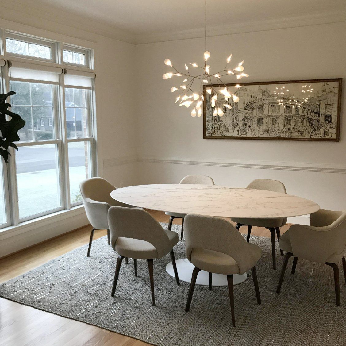 Heracleum Ii Small Led Chandelier Dining Room Design Modern