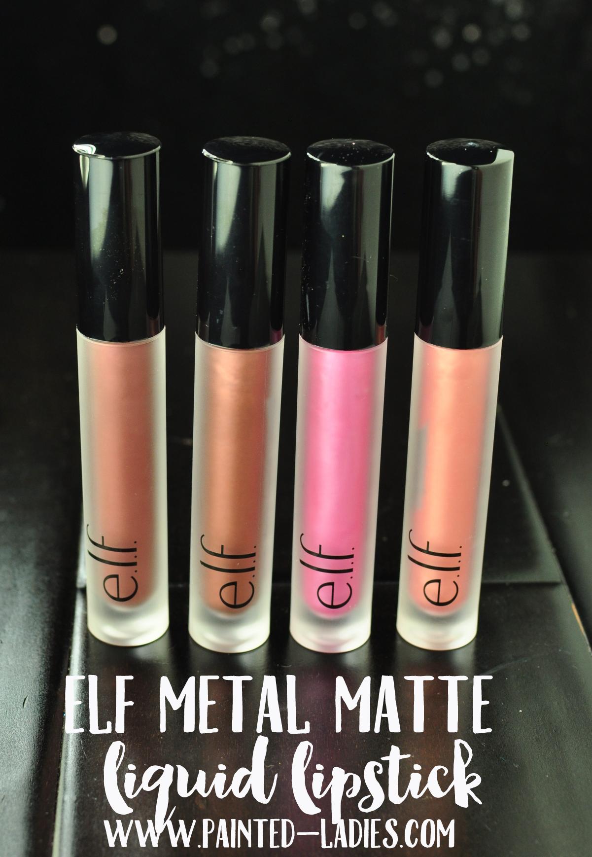 elf Cosmetics Metal Matte Liquid Lipsticks | Makeup Love | Pinterest ...
