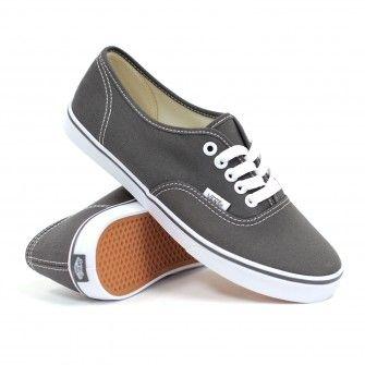 dfe653e80e Vans Women s Authentic Lo Pro (Pewter True White) Women s Shoe  44.99