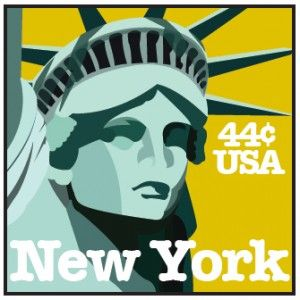 A little nod to the Lady - Statue of Liberty Illustration by @Jess Amazing