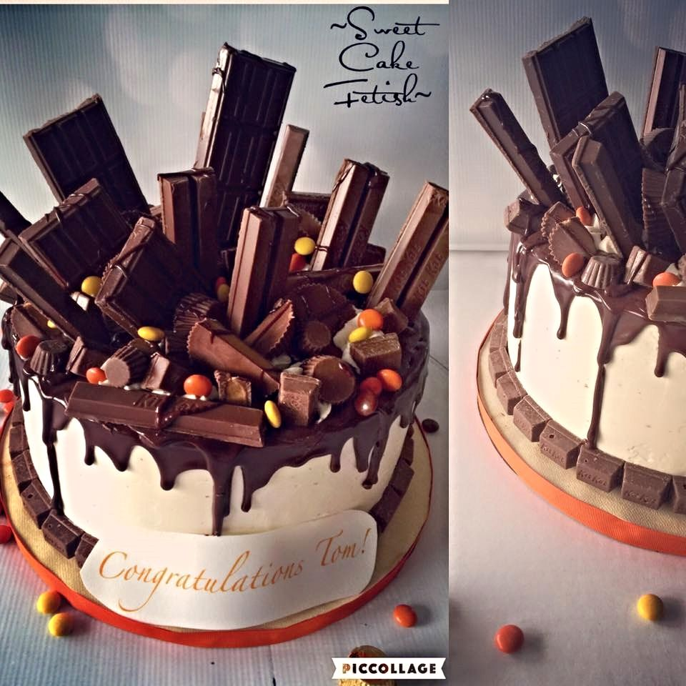 Hersheys Chocolate Drip Cake | Tutorials & Blog | Pinterest ...