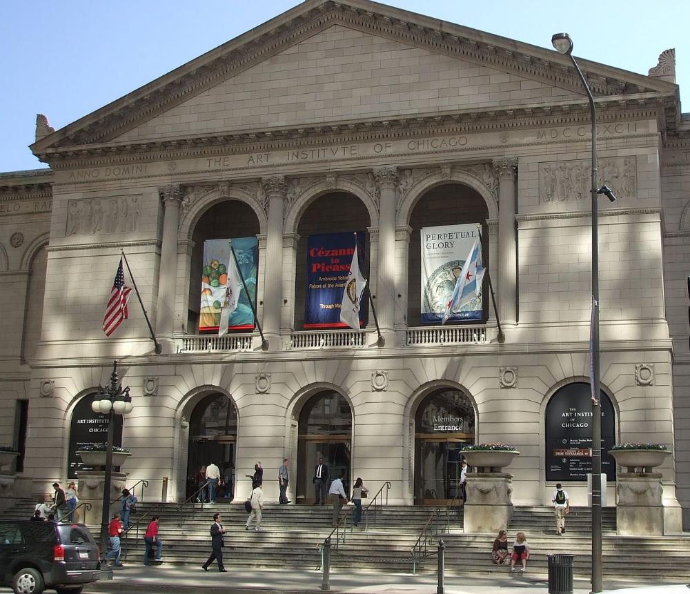 Art Institute of Chicago Front Shepley, Rutan et