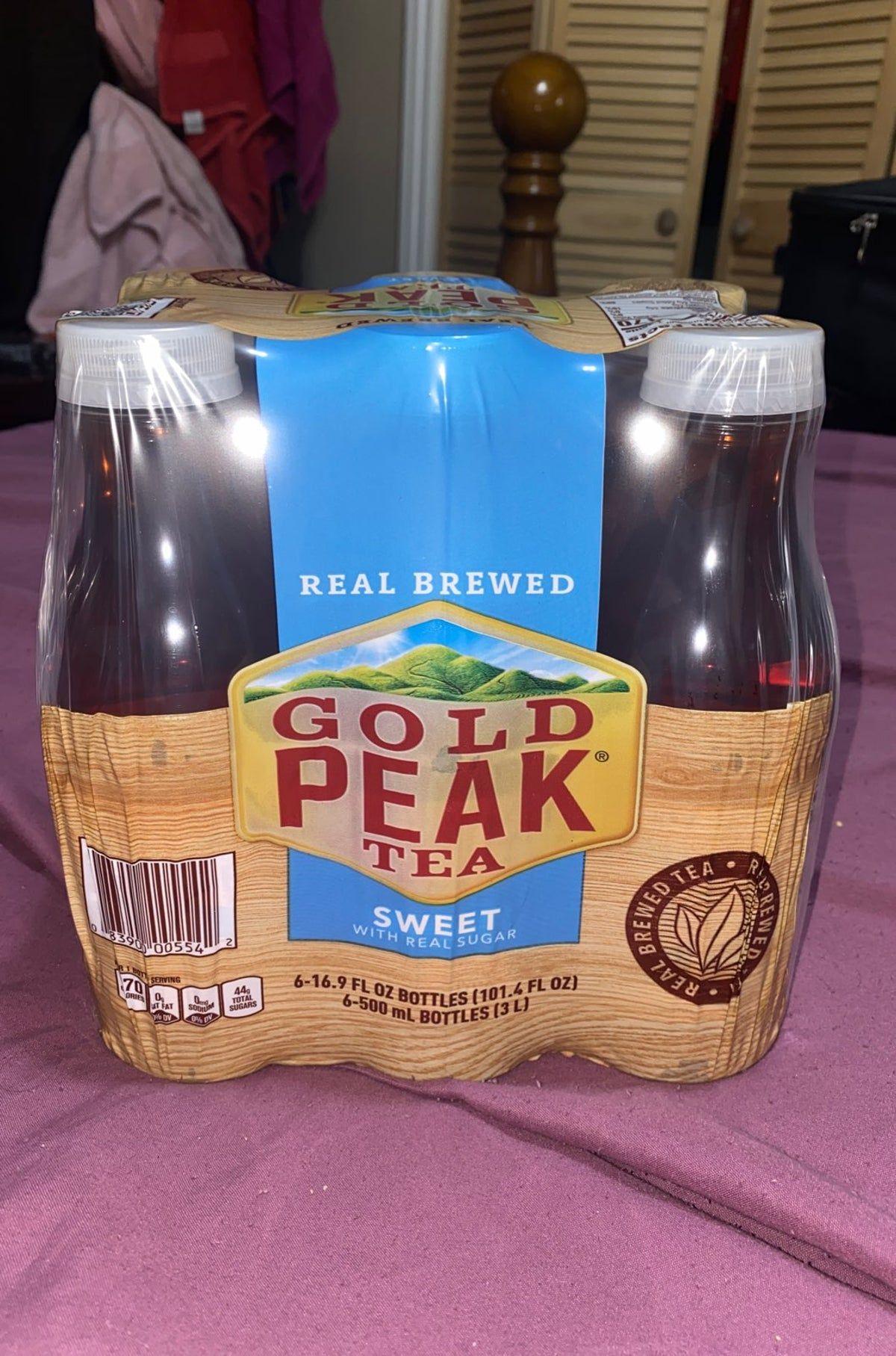 Gold Peak Diet Iced Tea Ingredients