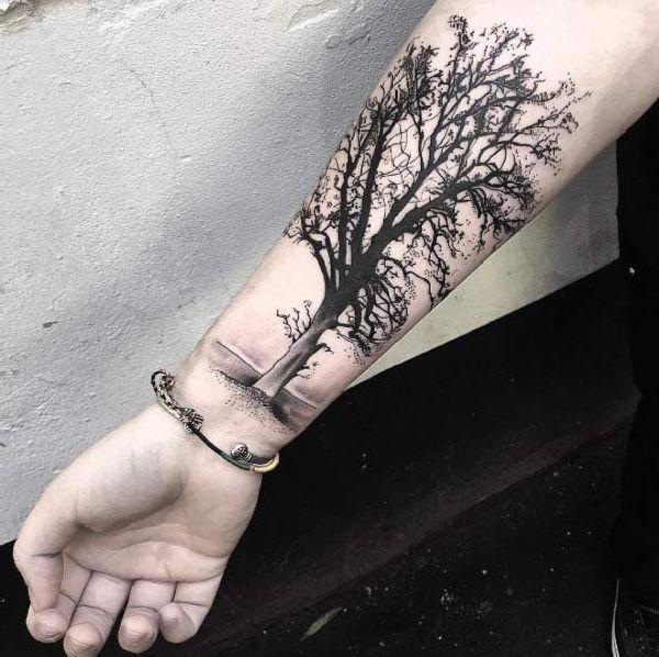 30 Mystische Baum Tattoos Tattoos Pinterest