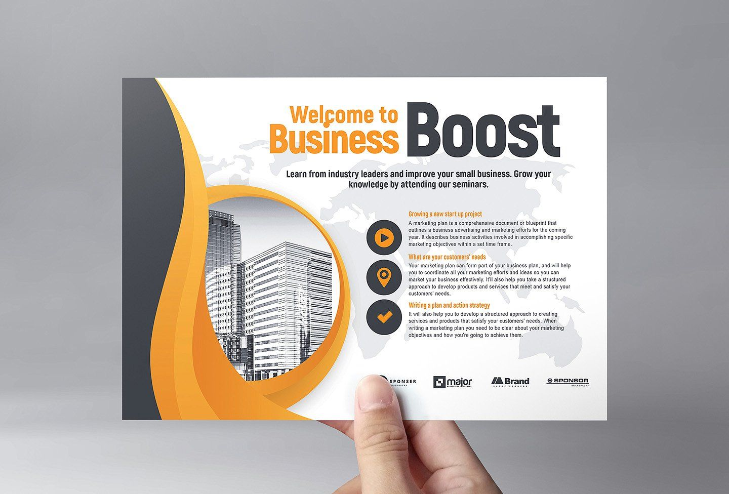 Marketing Seminar Flyer Template V2 With Images Marketing