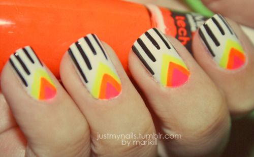 Stripes and Triangles