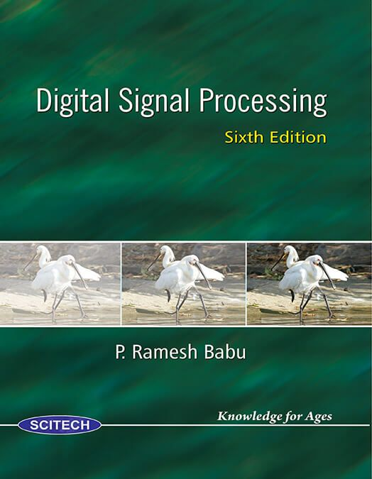 Digital Signal Processing Ramesh Babu 4th Edition Ebook