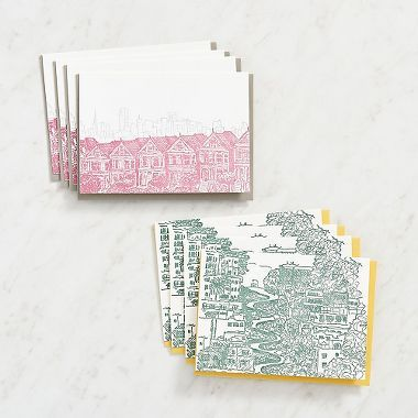 San Francisco City Scapes Stationery Set Cool stuff to buy
