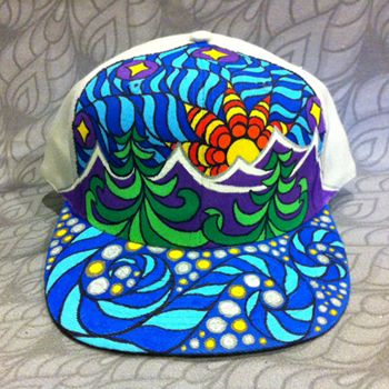 Hand-Painted Hats by Phil Lewis  a50daa658c4