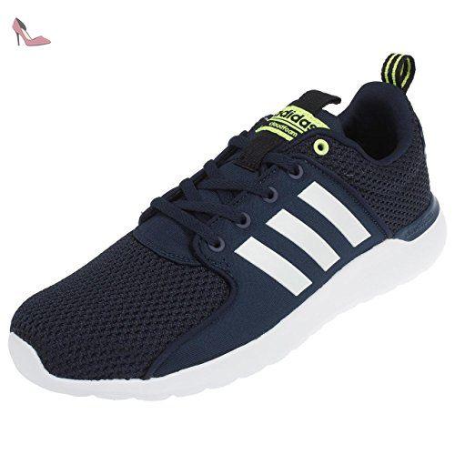 adidas RapidaRun K, Chaussures de Tennis Mixte Enfant, Noir (Negbas/Negbas/Energi), 28 EU