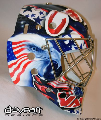 So Outstanding Goalie Hockey Daveart Goalie Mask Hockey Mask Goalie
