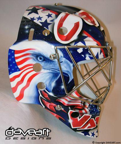 So Outstanding Goalie Hockey Daveart Goalie Mask Hockey Mask Goalie