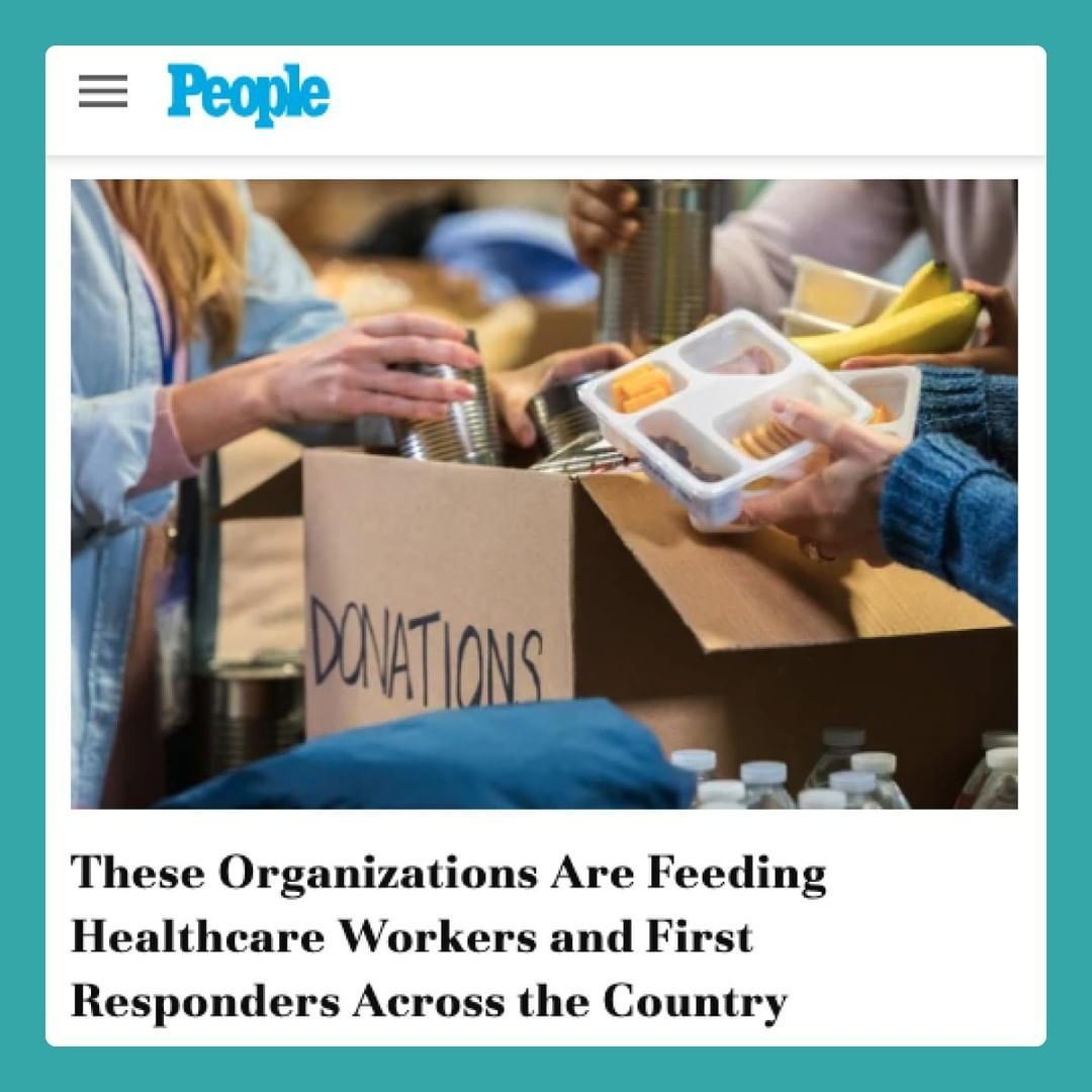 These Organizations Are Feeding Healthcare Workers and