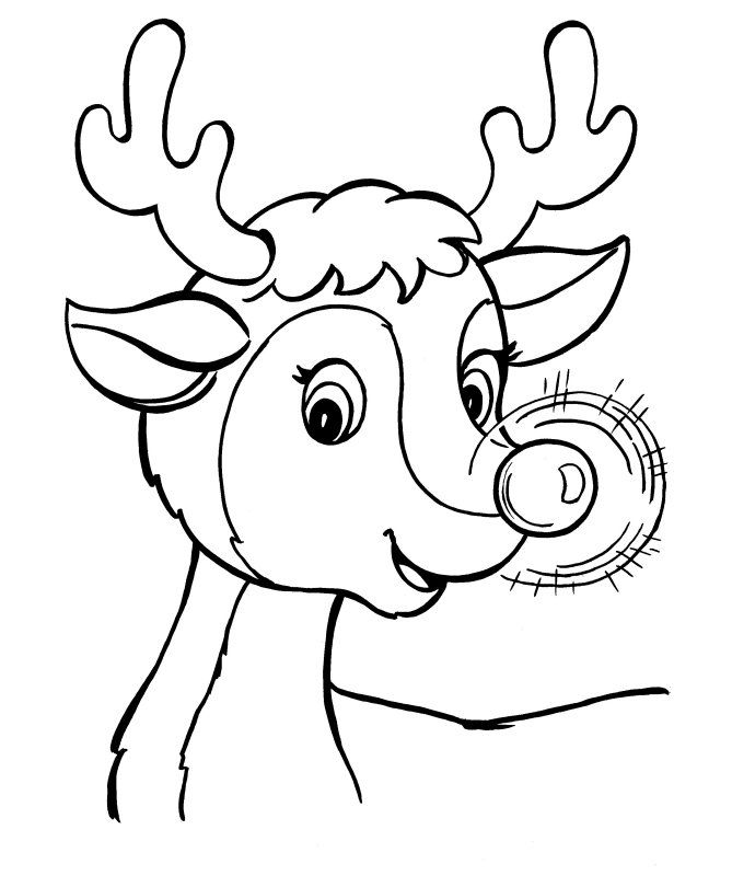 Pin The Nose On Rudolph Coloring Page To Use For Game Printable Christmas Coloring Pages Free Christmas Coloring Pages Christmas Coloring Pages