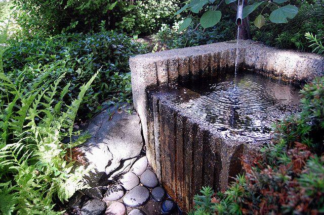 Japanese water garden - waterfall - Picture of Stobo Japanese ...
