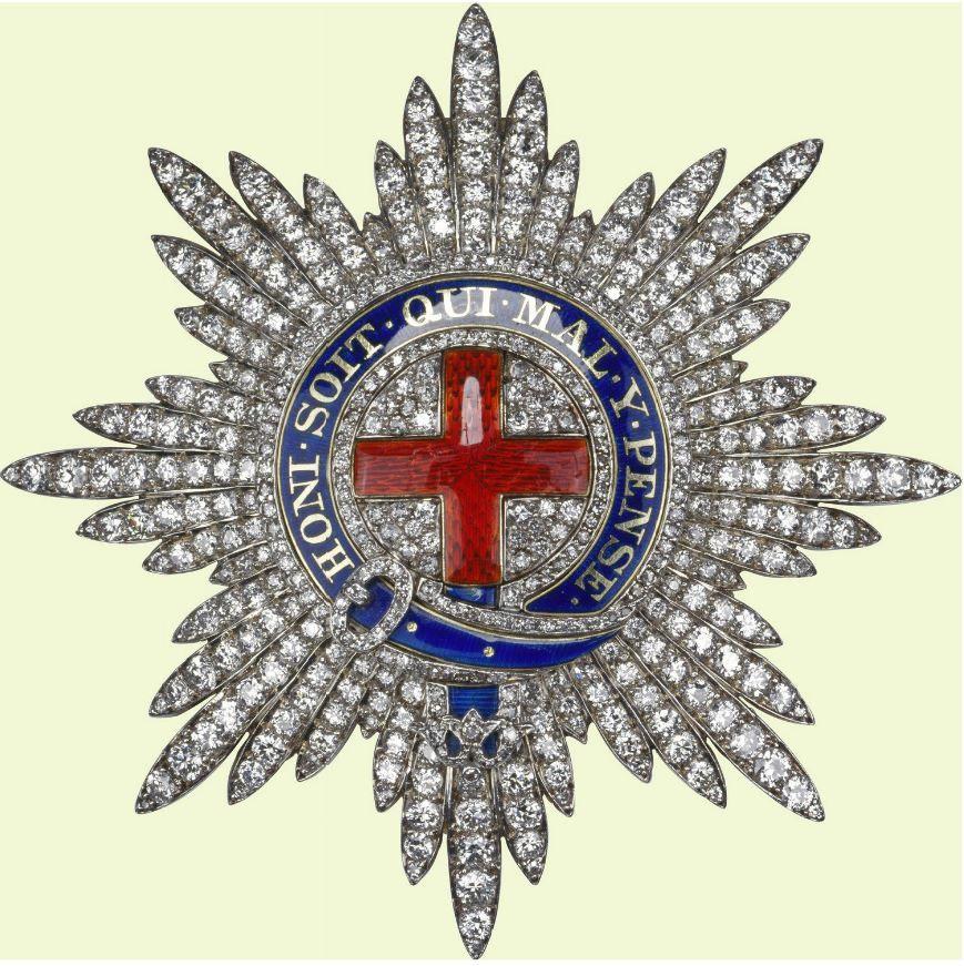 Order Of The Garter Diamond Star Of Queen Elizabeth Ii 1923 Royal Jewels Royal Crowns Queens Jewels