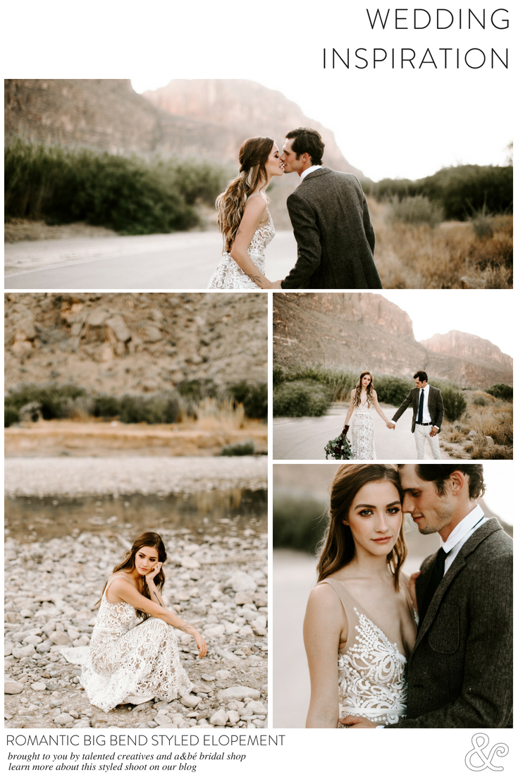 Romantic big bend styled elopement part pinterest boho lace