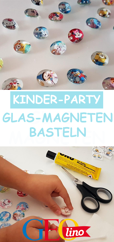 Photo of Glasmagneten basteln: Bastelanleitung bei GEOlino.de