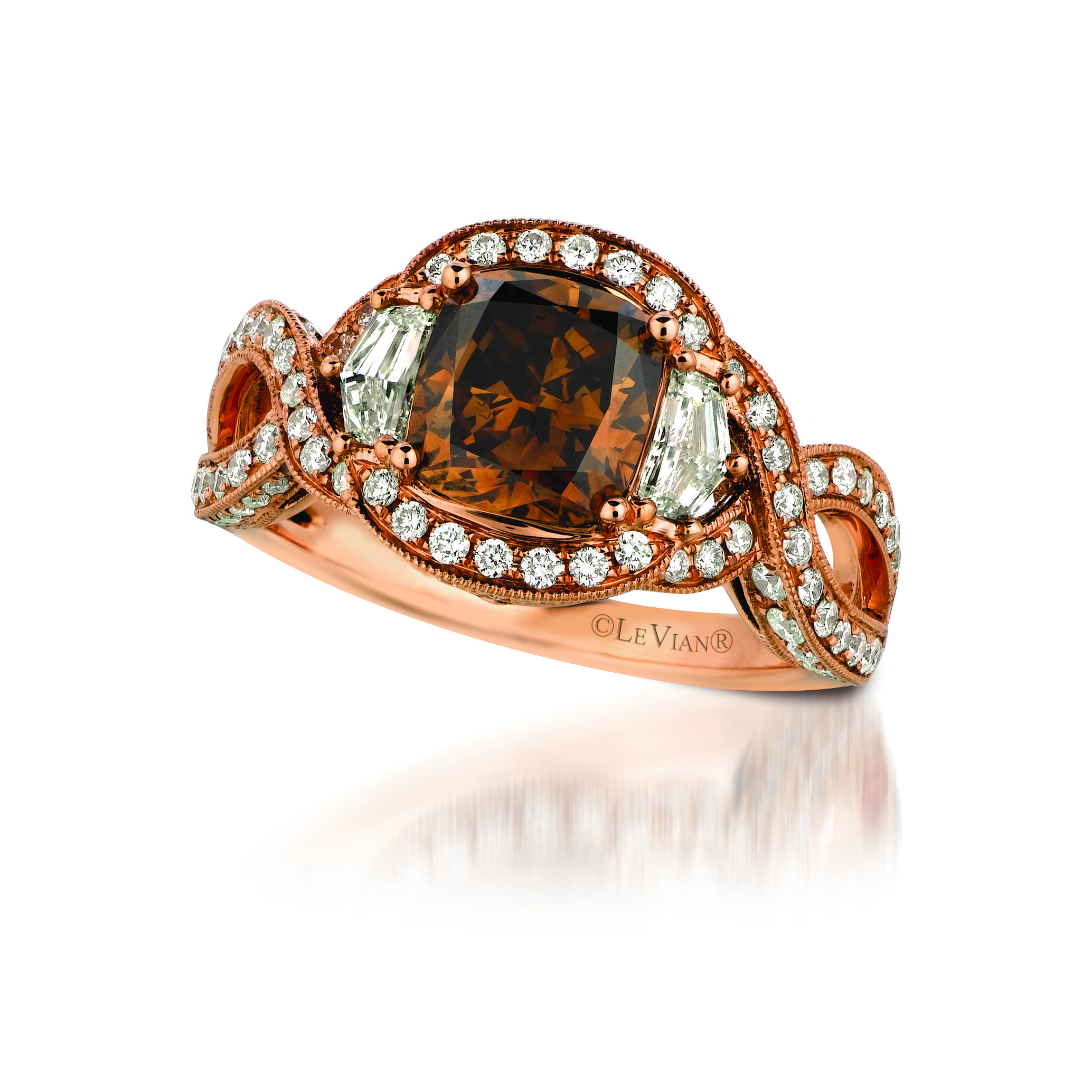 #LeVian Chocolate® Diamond Ring.#jewelry,#browndiamonds,#jewelry