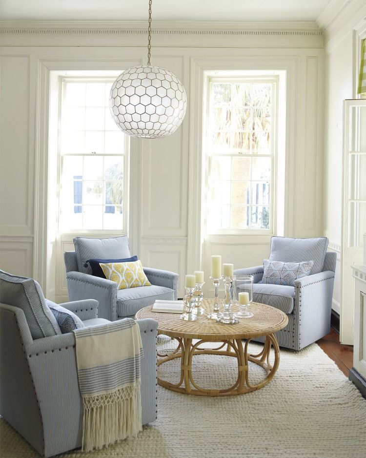 Favorites for fall with serena lily round ottoman sunroom and