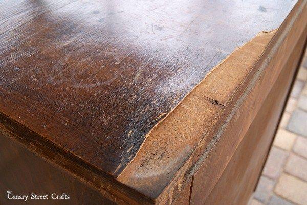 When To Prep Before Chalk Paint Canary Street Crafts Diy Furniture Repair Wood Repair Furniture Repair