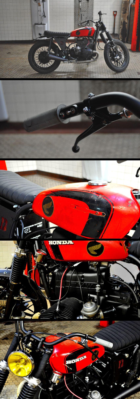 "BMW ""UK Tracker"" by Blitz Motorcycles - http://blitz-motorcycles.com/"