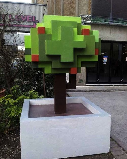 London's Brick Lane Gets The '8 Bit Makeover'