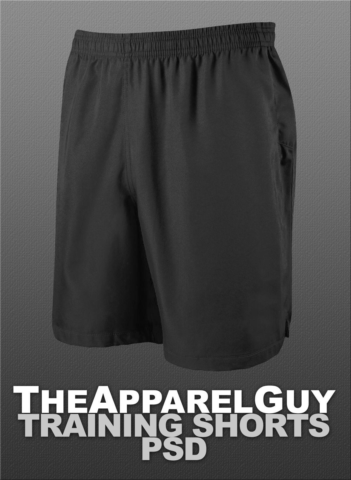 Download Training Shorts Psd Training Shorts Shorts Clothing Templates
