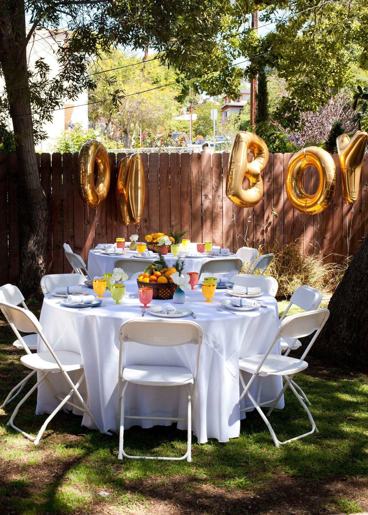 A Grown-Up Baby Shower: The Party Plan   Backyard baby ...