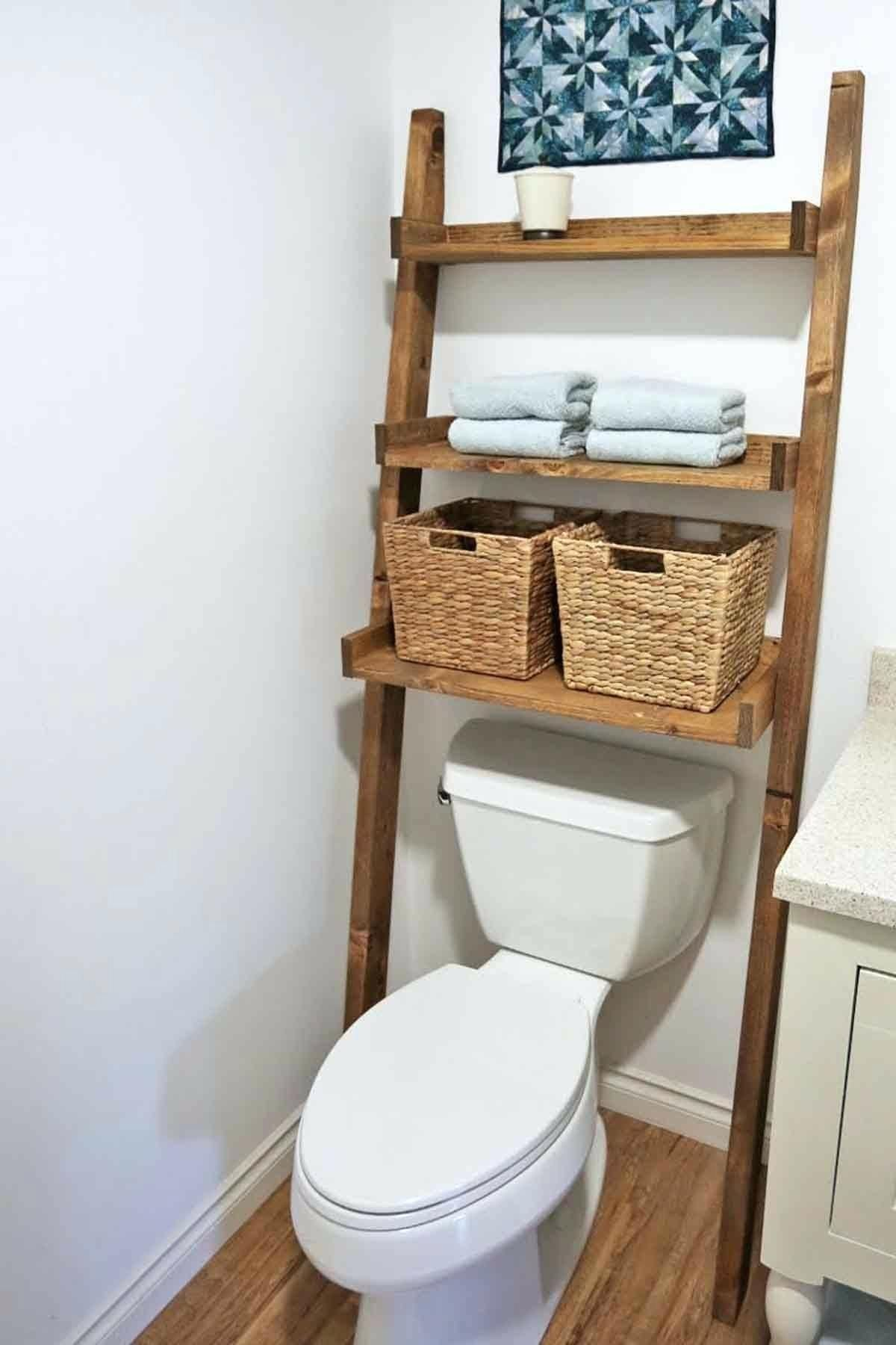 17 best small bathroom storage ideas cheap creative
