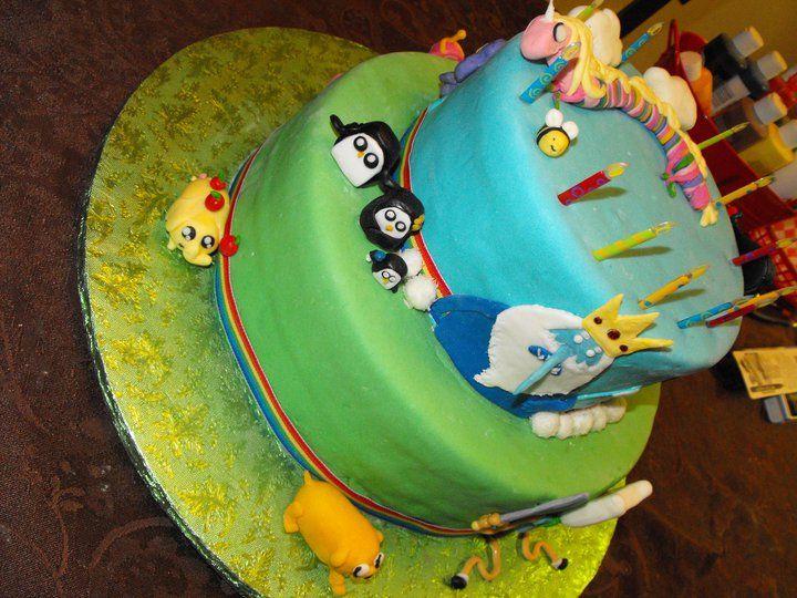 Adventure Time Cake Lady Rainicorn Princess Bubblegum Ice King