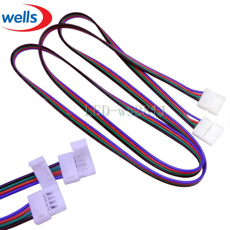 Best Price 1 Pcs 1m LED RGB cable extension cord wire for LED 5050 ...