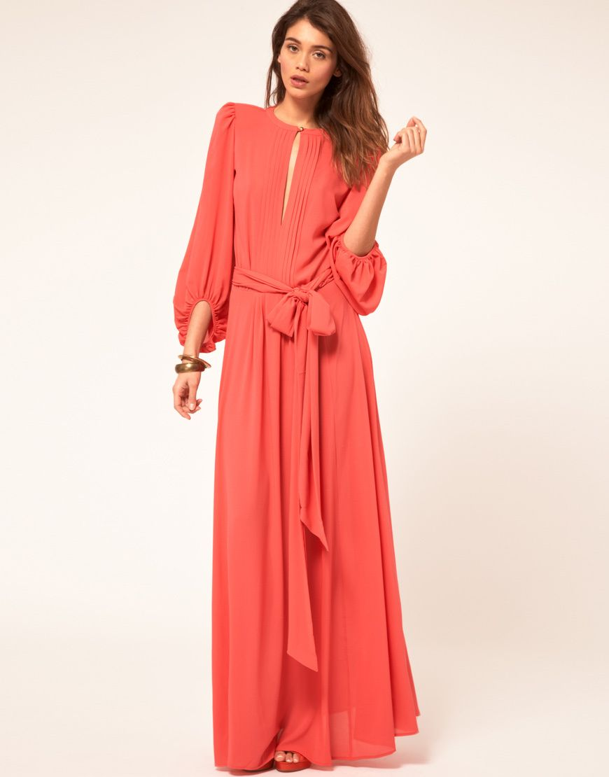 78  images about Long Sleeve Maxi Dress on Pinterest  ASOS Frock ...