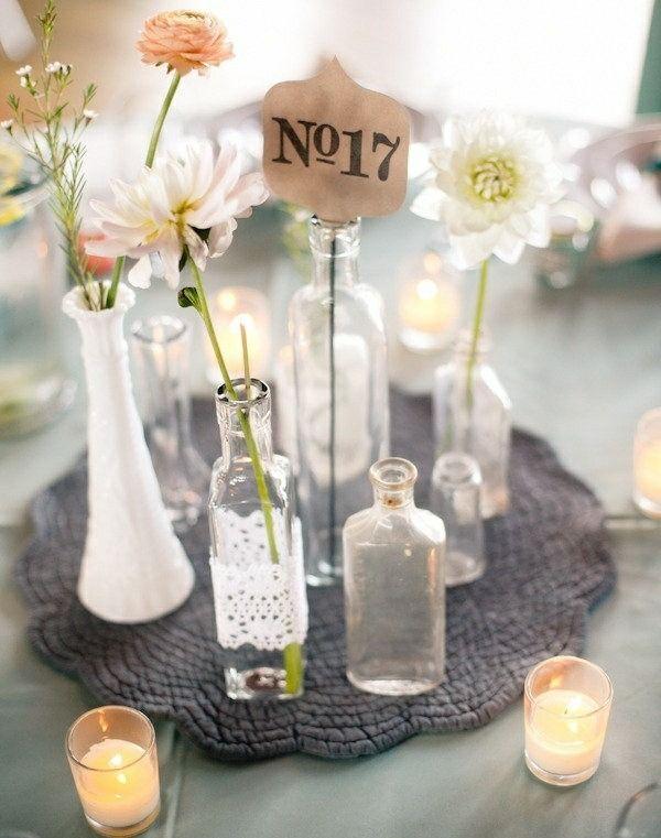windlichter vasen sch ne tisch dekoration tischdeko. Black Bedroom Furniture Sets. Home Design Ideas