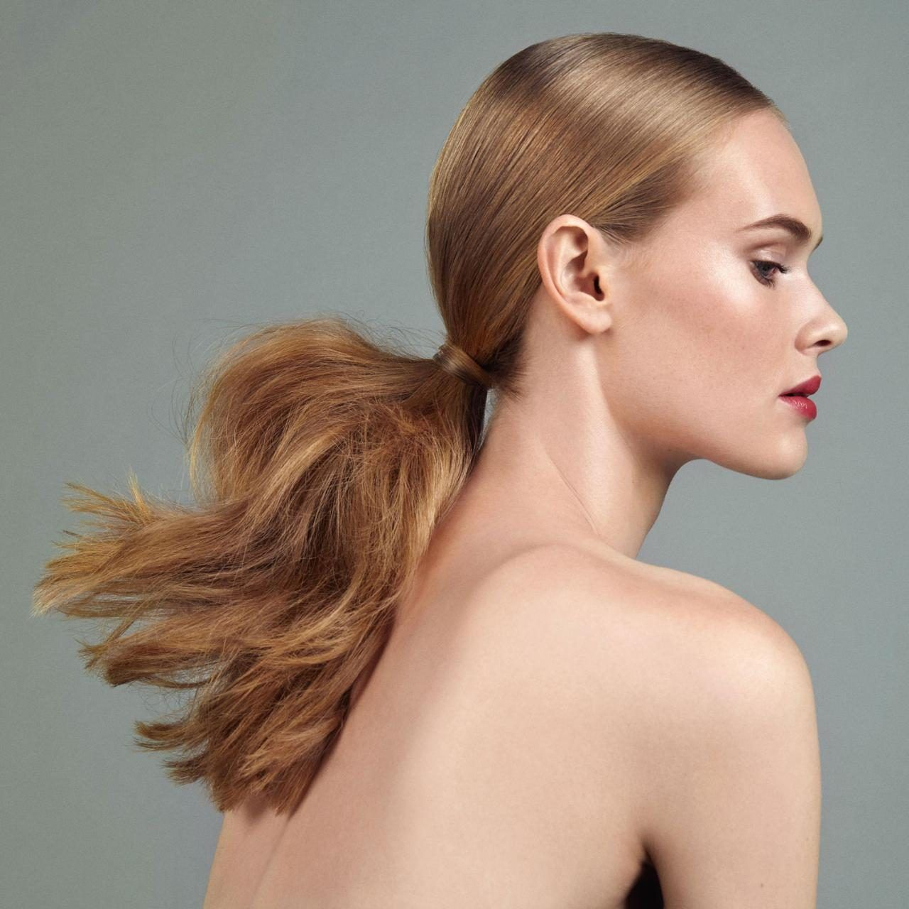 How to create low-key evening hair #eveninghair